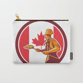 Canadian Pizza Baker Canada Flag Icon Carry-All Pouch