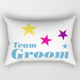 Team groom Rectangular Pillow
