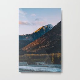 Fire on the Mountain II Metal Print