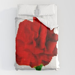 Red Carnation Comforters