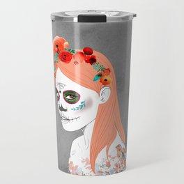 Dia de los muertos - La Catarina Travel Mug