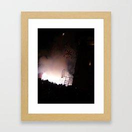 El Grito Framed Art Print