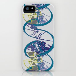 Disc Spiral iPhone Case