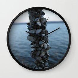 Mooring Line - Lake Geneva, WI Wall Clock