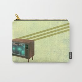 aliens exist - and anything else on tv Carry-All Pouch