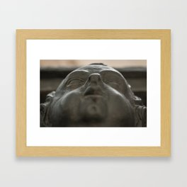 Baby Face: A Cherub Decorates St Dunstan in the East Framed Art Print