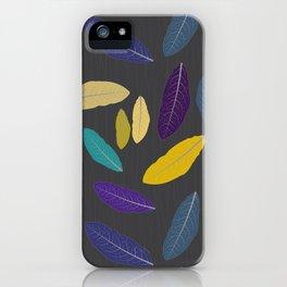 Golden Fall iPhone Case