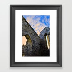 Corcomroe Abbey Arch Framed Art Print