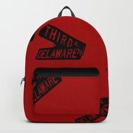 Roseanne - Third and Delaware - Sign - Pattern Backpack