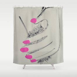 MANICURED Shower Curtain