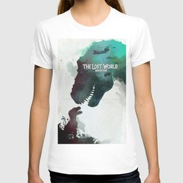 Inspired movie poster. The Lost World: Jurassic Park (1997) T-shirt