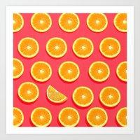 fruit Art Prints featuring  FRUIT by mark ashkenazi