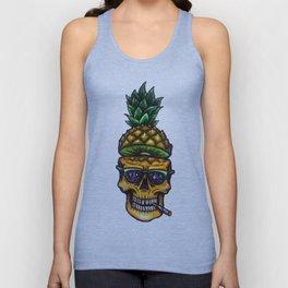Pineapple Skull Unisex Tank Top