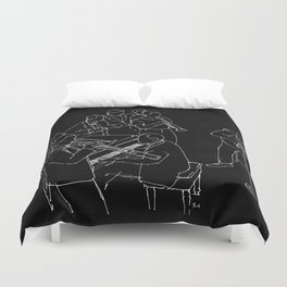 Duke Ellington jazz band Duvet Cover