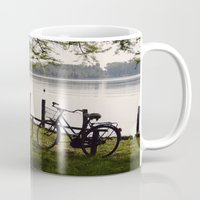 bicycle Mugs featuring Bicycle by L'Ale shop