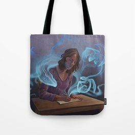 Drawing Dragons Tote Bag