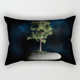 The First Sanctuary in Space Rectangular Pillow