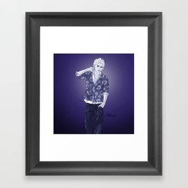 Indigo Philip Framed Art Print