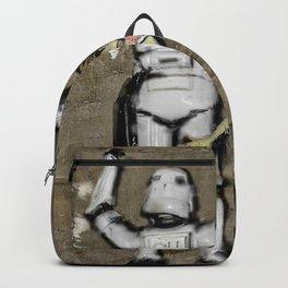 Girl and clone Backpack