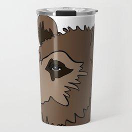 Canadian Grizzly Bear Travel Mug