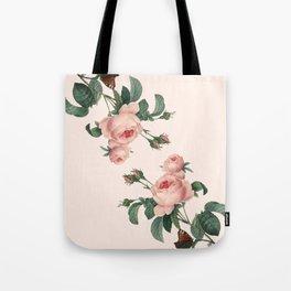 Butterflies in the Rose Garden Tote Bag