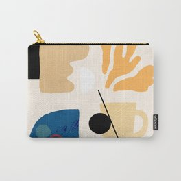 American Desert Southwest Abstract Elements Carry-All Pouch