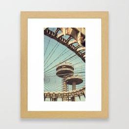 imprisoned towers... Framed Art Print