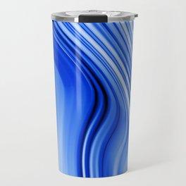 Streaming Blues Travel Mug