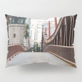 Chicago River Walk Pillow Sham