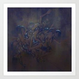Sleep Paralysis 37, Metal Plate Art Print