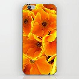 Flower at night iPhone Skin