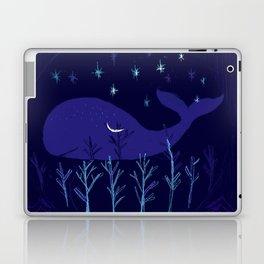 Whale Night Laptop & iPad Skin