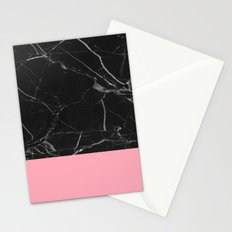 Flamingo on Marble Stationery Cards