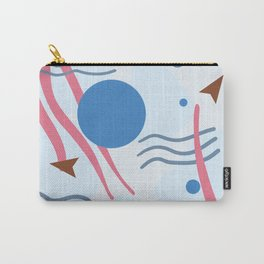 Abstract Ocean Scene What Lies Beneath Carry-All Pouch