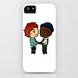 Wylan x Jesper - Six of Crows / Crooked Kingdom (B) iPhone Case