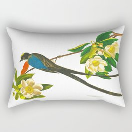 Fork-tailed flycatcher Bird Rectangular Pillow