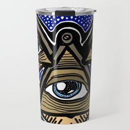 Three Masons in Space Travel Mug