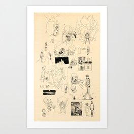 Patchwork Art Print