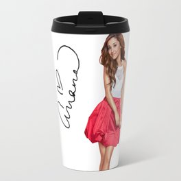 ArianaGrande t shirt Travel Mug
