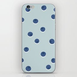 Blueberries iPhone Skin