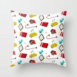 Selvaestampado Throw Pillow