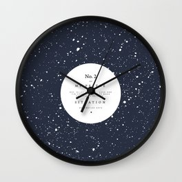 My Peltre Situation Wall Clock