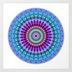 Geometric Mandala G382 Art Print