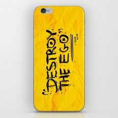 Destroy the Ego iPhone & iPod Skin