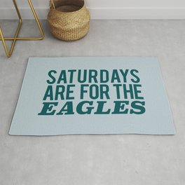 Saturdays are for the Eagles Rug