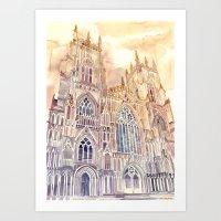 takmaj Art Prints featuring York by takmaj