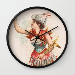 Celia, from the Ballet Queens Trading Card Series (N182) 1889 Wall Clock