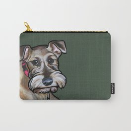 Maggie the irish terrier Carry-All Pouch
