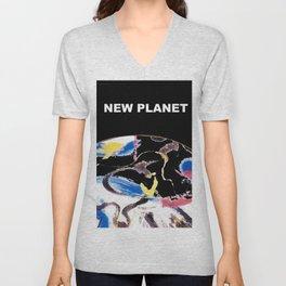 NEW PLANET     by    Kay Lipton Unisex V-Neck
