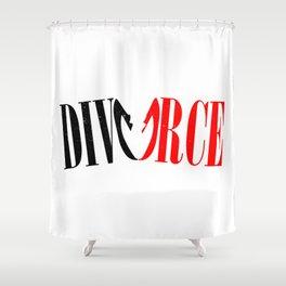 Divorce Shower Curtain